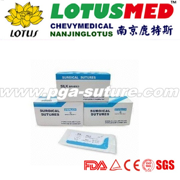 Dental polyglycolic acid suture
