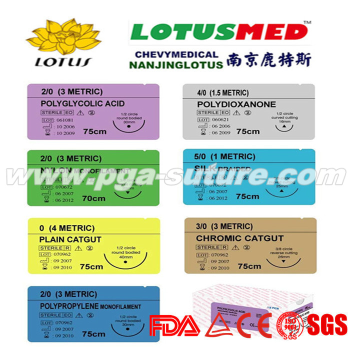 LOTUSMED Surgical polypropylene suture